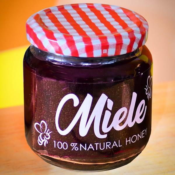 Mermelada de arándanos con miel