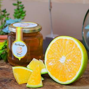 Miel naranja cruda 100% natural